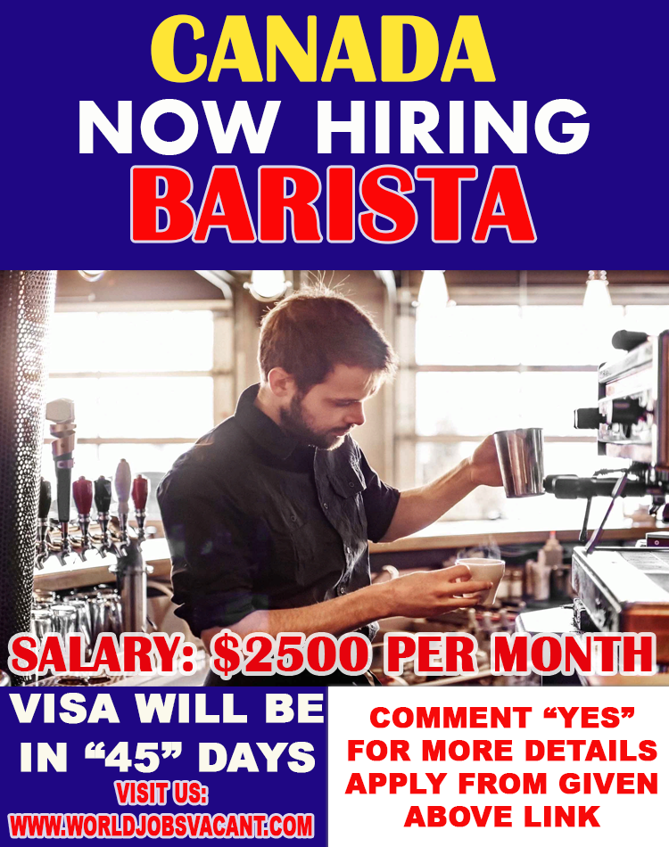 The Barista plays a key role in our energetic team of food and liquid enthusiasts World Health Organization are driven to produce glorious client service Barista Hiring In Canada.
