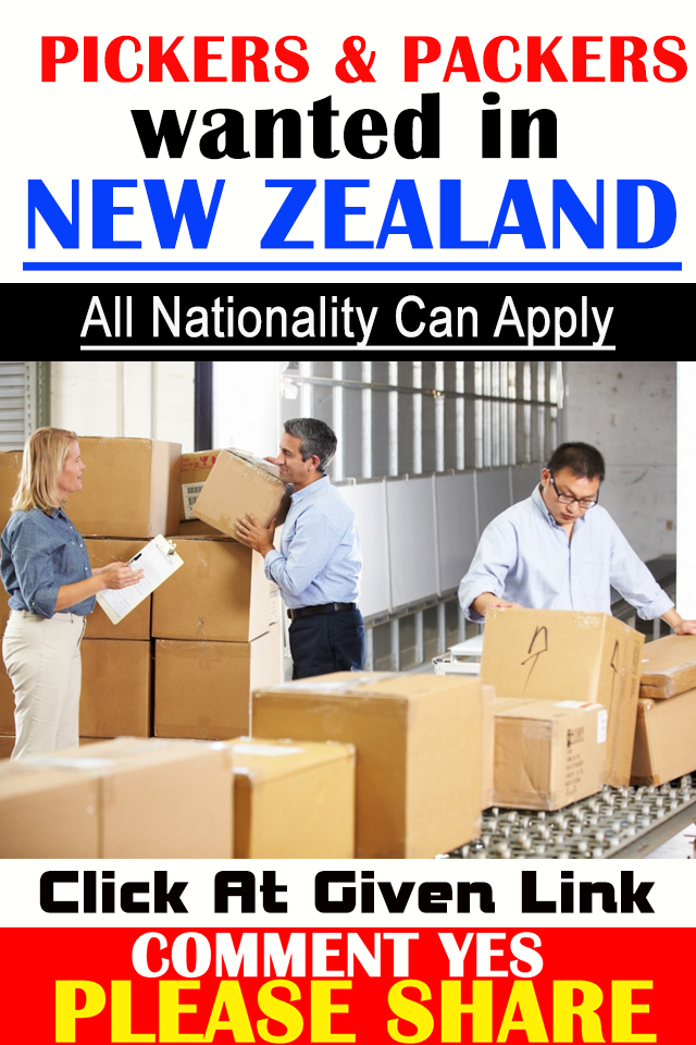 Pickers & Packers Jobs In New Zealand