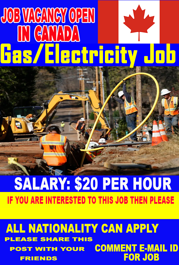 Gas/Electricity Jobs in Canada