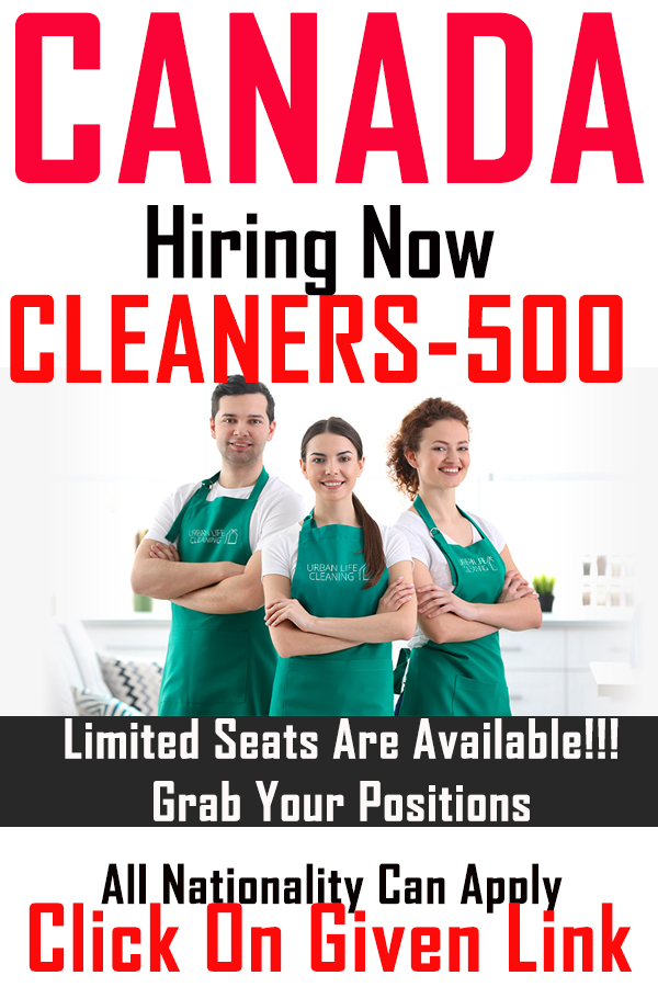 Cleaner & Housekeeping In Canada for 2020