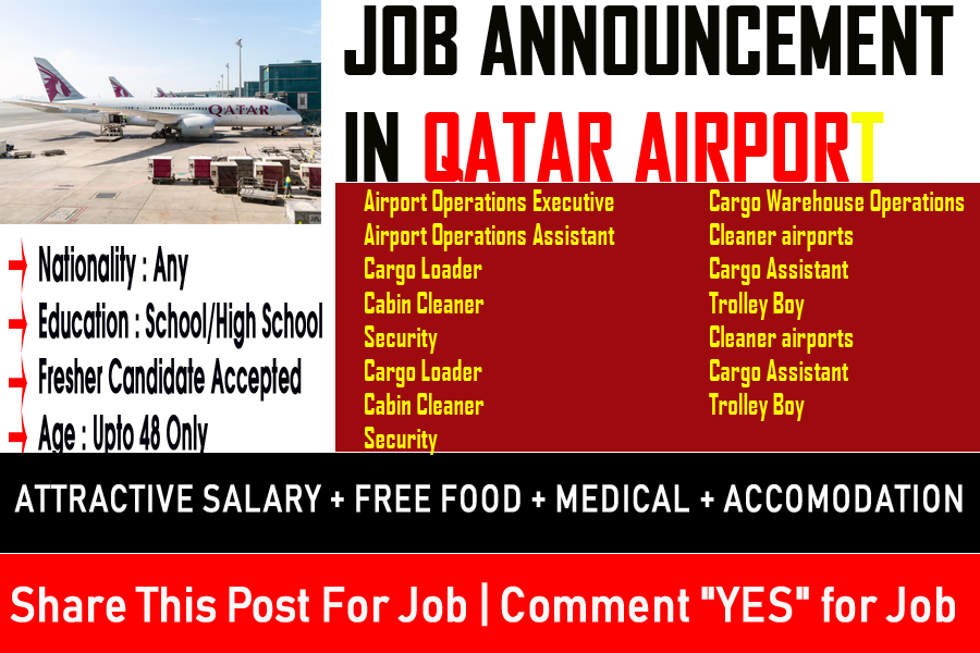 New Job Vacancies At Qatar Aviation Services