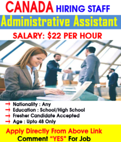 Administrative Assistant jobs in Canada