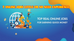 7 Online Jobs Little or No Need Experience