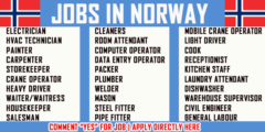 Jobs in Norway