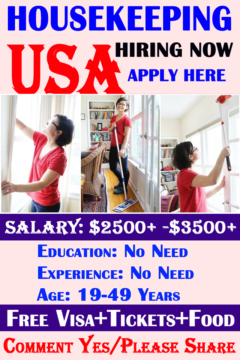 Housekeeping Jobs For Hospitals In United States