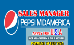 Pepsi MidAmerica Hiring Sales Manager Apply Now