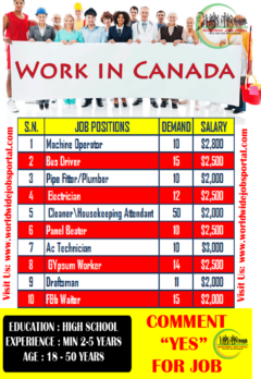 Live and Work in Canada Apply