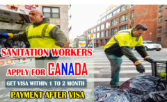 canada sanitation worker