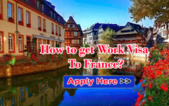 How to get Work Visa To France?