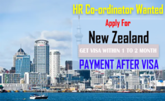 HR Coordinator Job In New Zealand