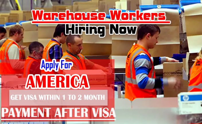 Warehouse Workers in USA Apply Now