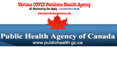 Various COVID Positions Health Agency