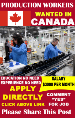 Production Workers Jobs in Canada