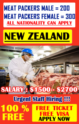 Meat Packers Jobs in New Zealand