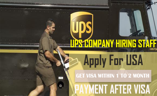 UPS Jobs In USA