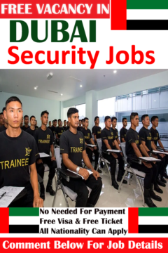 Security Jobs in Dubai Apply Now