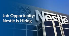 Most recent Job Vacancies At Nestle