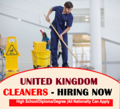 Cleaning Jobs In United Kingdom
