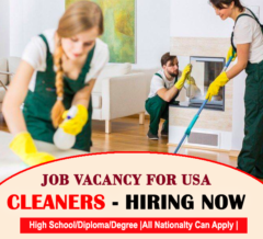 Cleaners Hiring in USA 2021